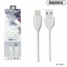"USB кабель для Apple iPhone 5 ""Remax Lesu"" (RC-050i) (Белый)"