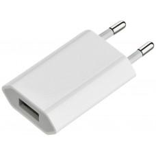 Сетевое зарядное устройство Apple iPhone 5/5s/6/6s/7/8/X/XS/XR (плоский) 1A ORIG