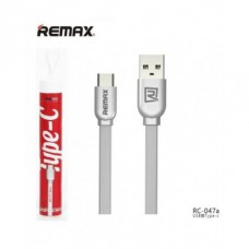 "USB кабель Type-C ""Remax Silver"" (RC-047a)"
