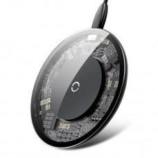 Беспроводное зарядное устройство Baseus Donut Black 5V/2A  9V/1.5A (WXTTQ-01)