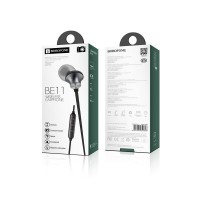 Bluetooth гарнитура Borofone BE11 Sporting Metal Grey