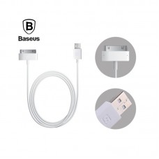 "USB кабель для Apple iPhone 4/4s ""Baseus Bold"" 1.2М (CAAPPRO-02) Белый"