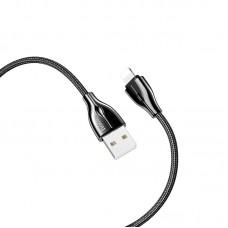 """Замена USB кабеля для Apple iPhone 5 """"HOCO U88"""" 1.2M 2.4A"""