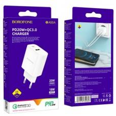 Замена сетевого зарядного устройства BOROFONE BA55A PD20W+QC3.0